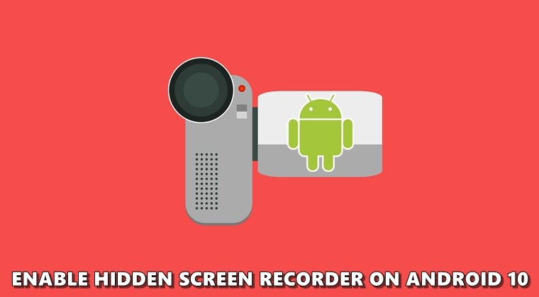 android 10 screen recorder