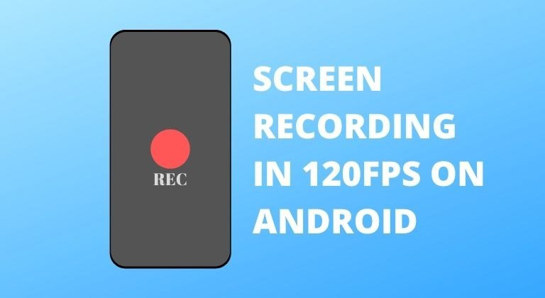 screen recording 120Fps cover