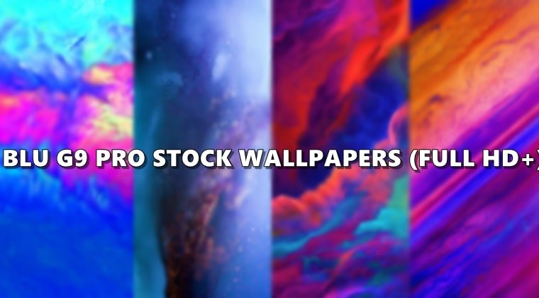 blu g9 pro wallpapers