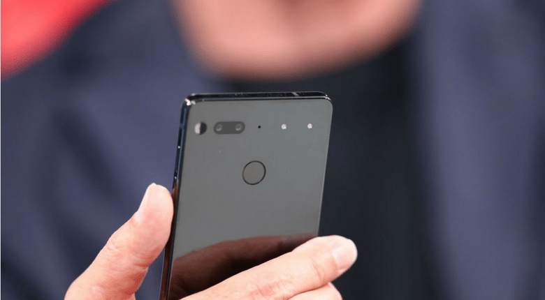 Essential Phone 2 kan innehålla Selfie Camera Under displayen