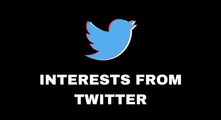 Twitter interests