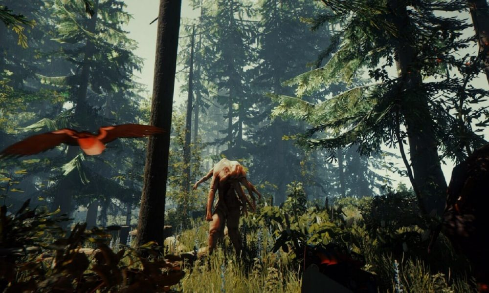 Survival-spelet The Forest tar sig till PlayStation 4 i november